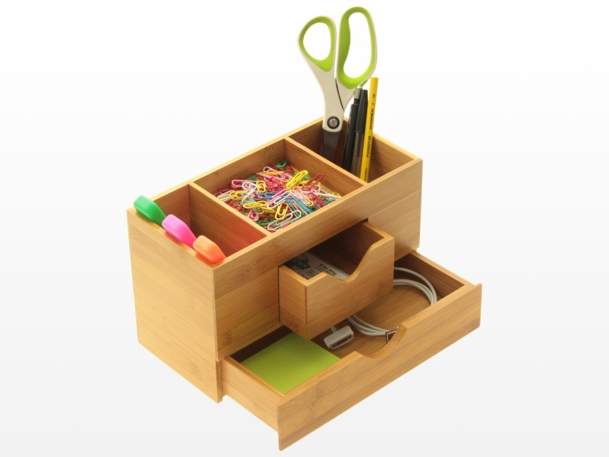 Desk Tidy Stationery Box