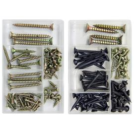Set of 2 Screws Kits - Drywall Chipboard & Chipboard Self Tapping