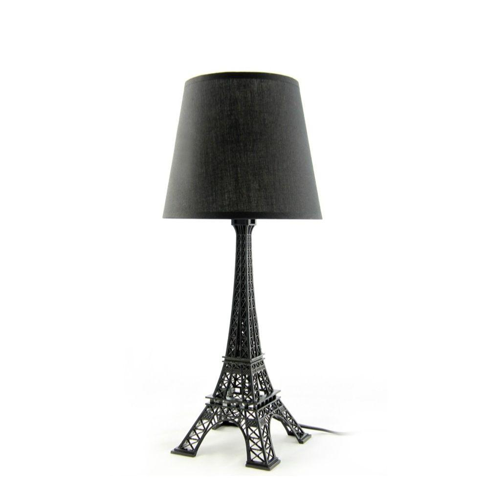 Black Eiffel Tower Lamp